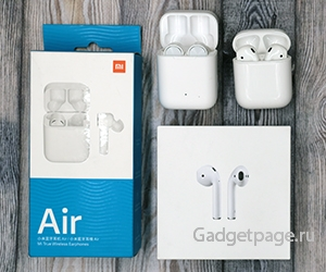 Сравнение беспроводных наушников: Xiaomi Mi AirDots Pro (Mi True Wireless Earphoness) vs Apple AirPods.