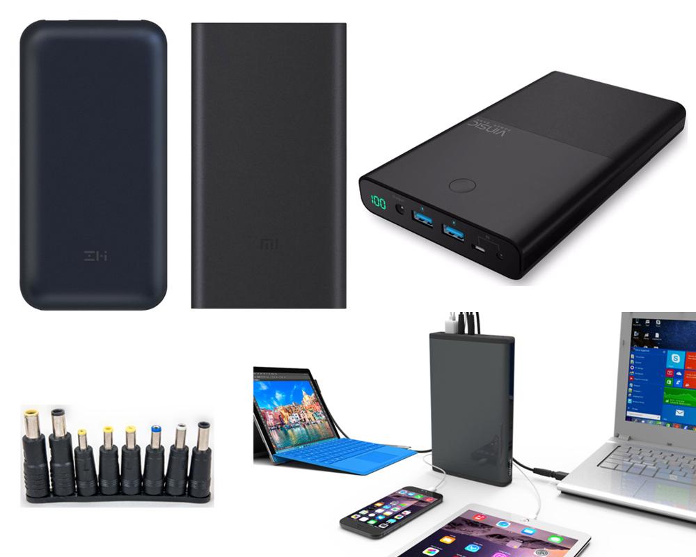 Переносные батареи для ноутбука массажер простаты мр1 купить