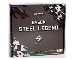 ASRock B450M Steel Legend – умная сталь