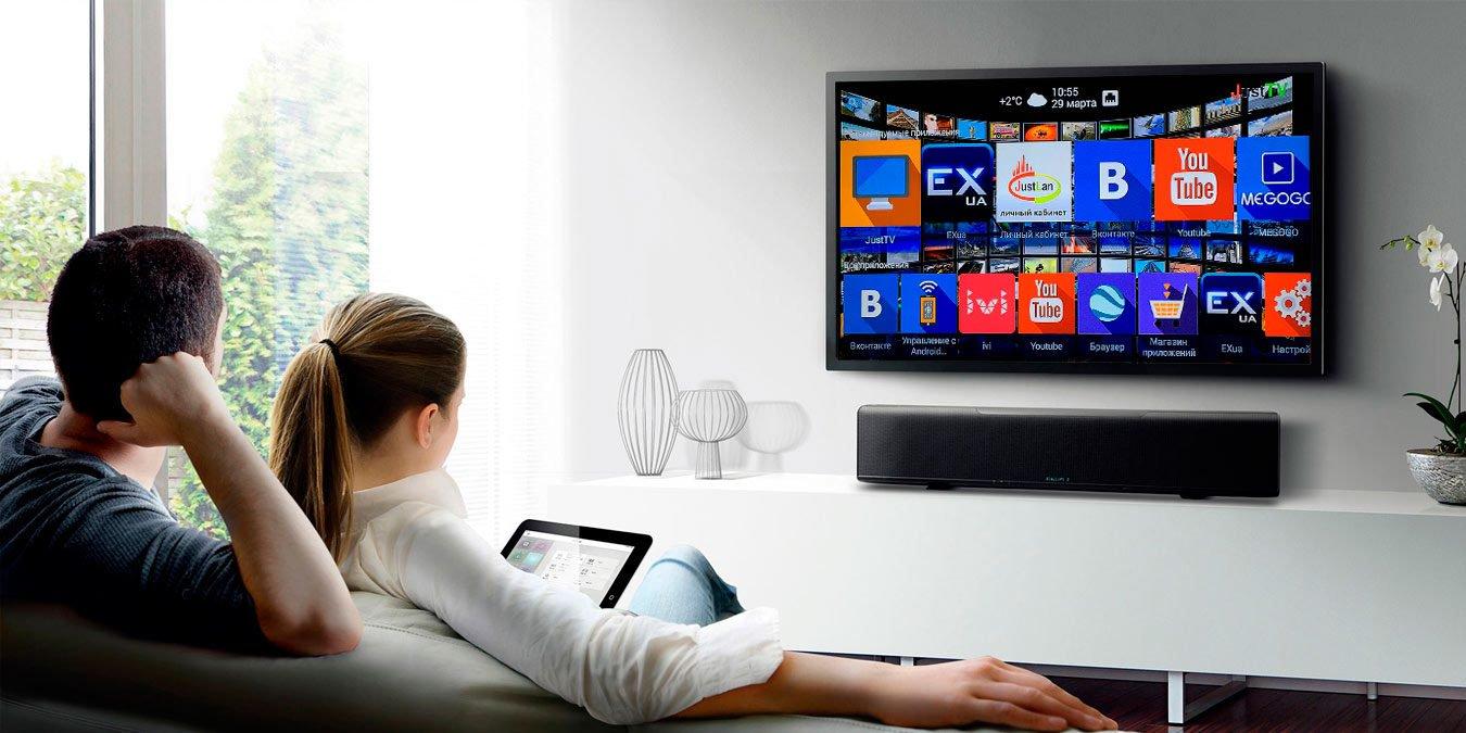 """Картинки по запросу """"4K, Android 9.0, SMART - какими функциями должен обладать современный телевизор?"""""""