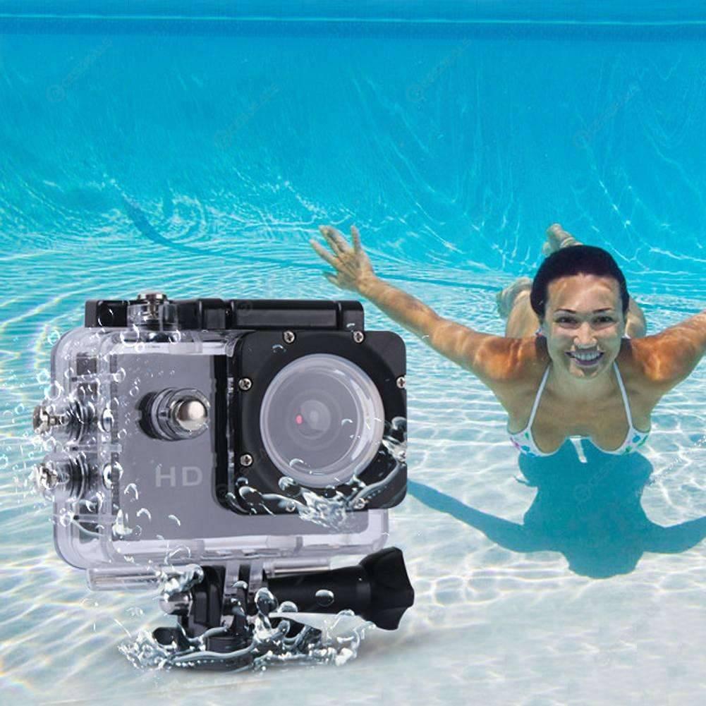 Спортивная фотокамера для фото в воде квасят